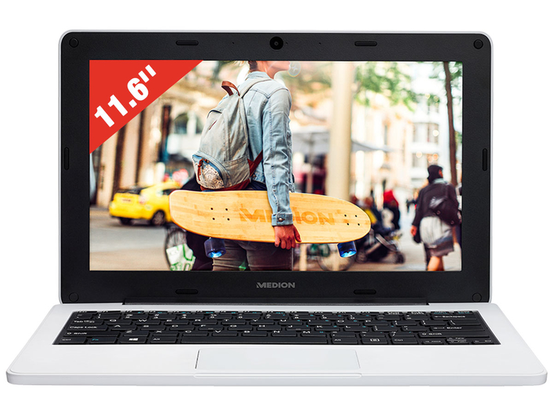 Notebook MEDION AKOYA E11201 11.6'' Intel celeron N4000 64GB