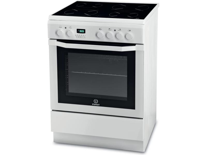 Cuisinière INDESIT Vitrocéramique - I6VMC6A(W)