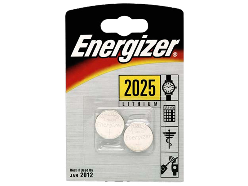 Piles ENERGIZER CR2025 2