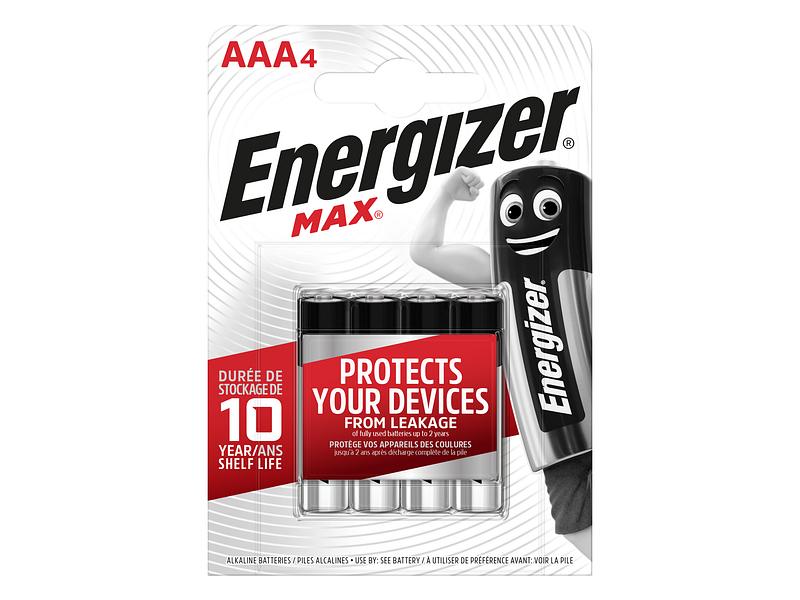 Piles ENERGIZER AAA 4