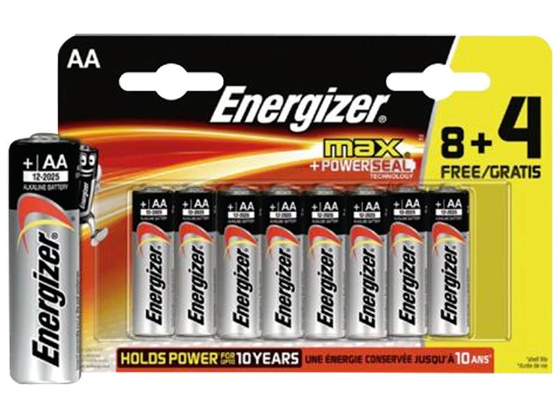 Piles ENERGIZER AA 12