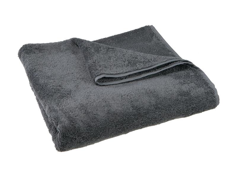 Linge de bain SIERRA gris foncé 80x50cm