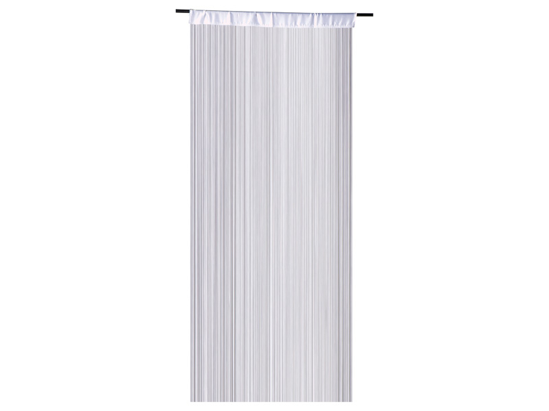 Rideau NEW VEGAS 90x245cm polyester blanc