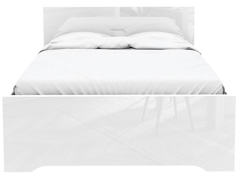 Lit TEMPO 140x200cm décor blanc