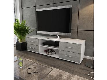 Meuble TV OSKAR blanc
