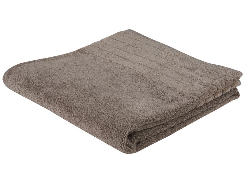 Badewäsche SIERRA dunkelbeige 56x56cm