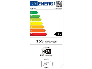 LED-Fernseher SAMSUNG 75''/189cm - UE75AU7170UXXN