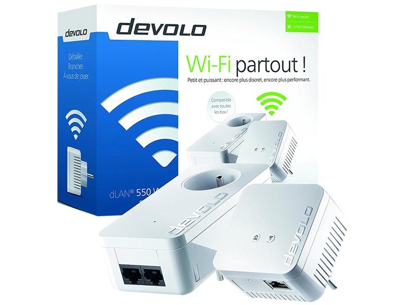 DEVOLO DLAN550 WIFI STARTER KIT POWERLINE 9634