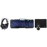 Image of Tastatur und Mausset ALTEC LANSING BUNDLE COMBO 2 HEADPHONE + KEYBOARD + MOUSE + PAD Drahtlos / verdrahtet