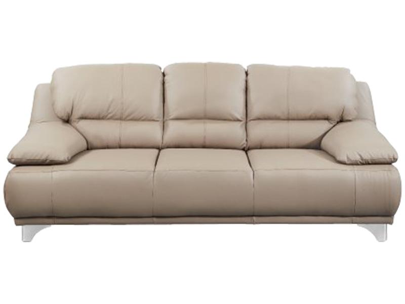 3er Sofa MARANELLO Echtleder beige