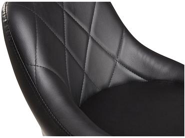 Barhocker DUSTIN Synthetisches Leder schwarz