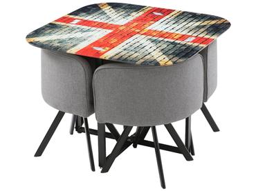 Set Tisch und 4 Stühle