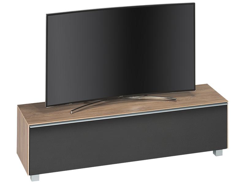TV-Möbel SOUND riviera eiche, schwarz