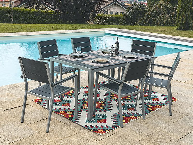 Gartentisch Side 150x90x72cm Conforama Ch