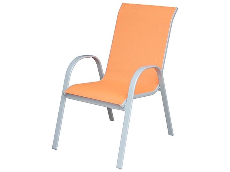 Gartenstuhl COLOR aluminium orange