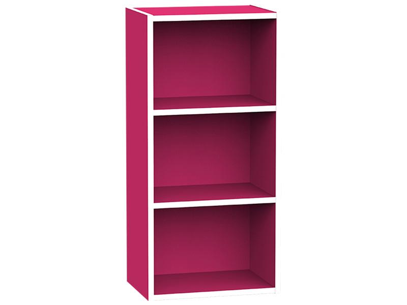 Bibliothek KIKI II rosa 2 Tablare
