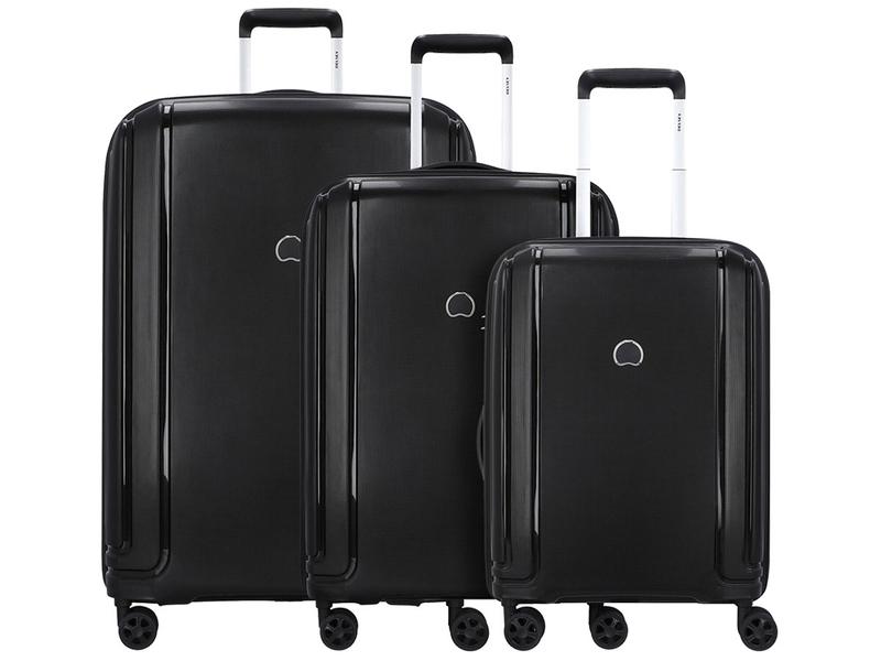 Set mit 3 Koffern DELSEY-BRISBAN schwarz
