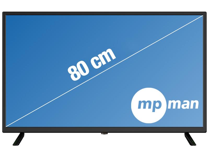 LED-Fernseher MPMAN 32''/80cm - LEDTV336DVD