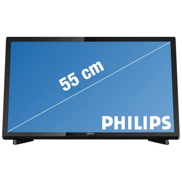 LED-Fernseher PHILIPS 22''/55cm - 22PFS5403