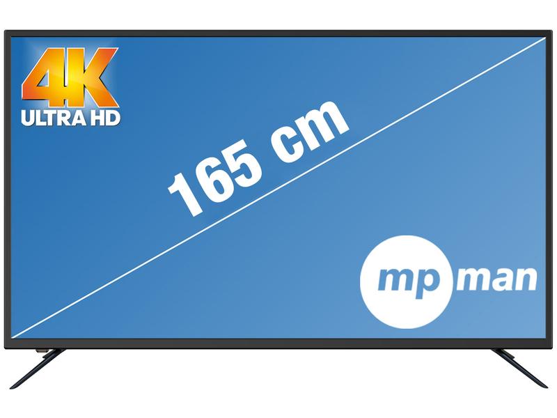 LED-Fernseher MPMAN 65''/165cm - LEDTV651SMART