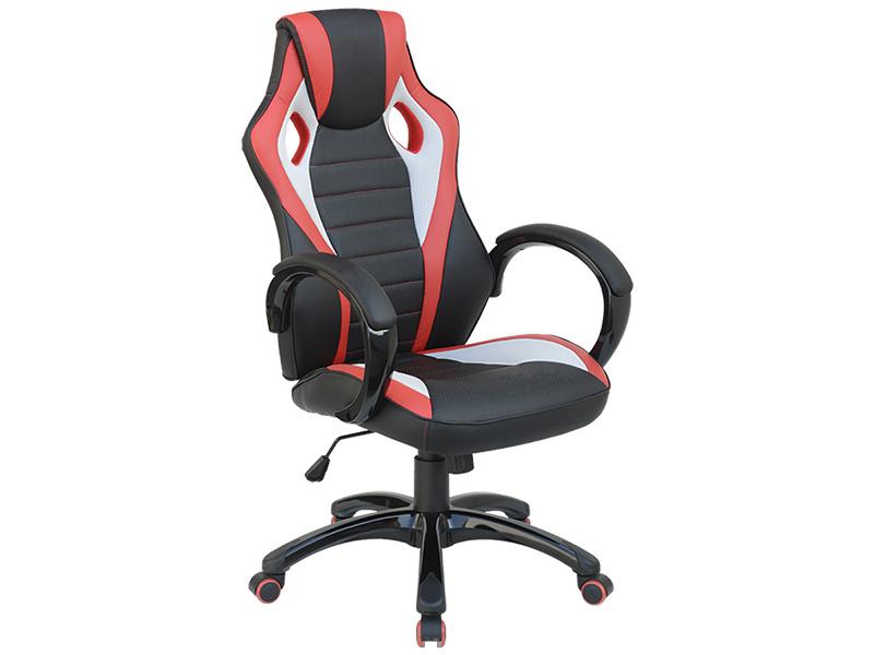 Bürosessel RACE 2 schwarz, rot