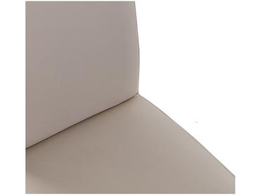 Stuhl BOSTON Synthetisches Leder beige