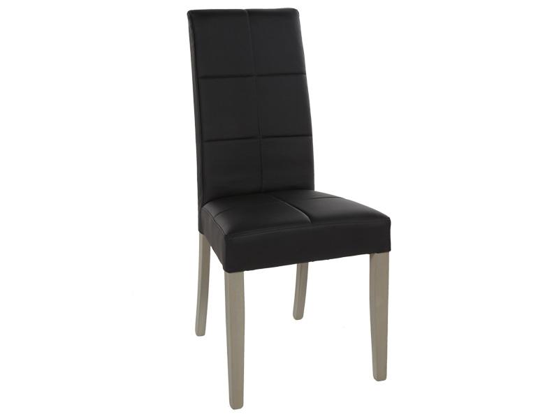Sedia STAY legno nero