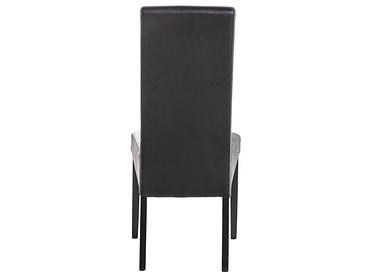 Stuhl BOSTON Synthetisches Leder schwarz