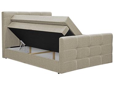 Boxspringbett BY CONFO BLING II 200x200cm beige