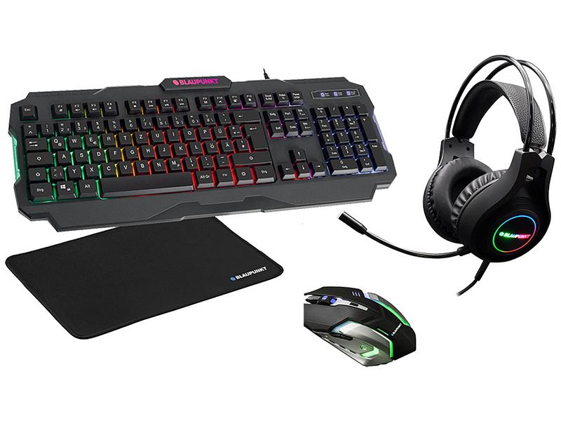 Tastatur und Maus-Set BLAUPUNKT BUNDLE GAMING 4 IN 1