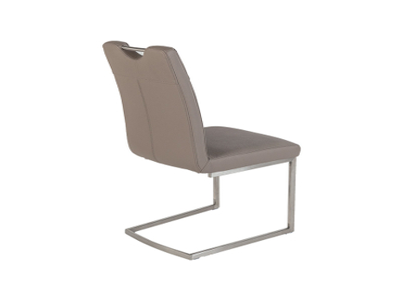 Stuhl ODETTE Synthetisches Leder taupe