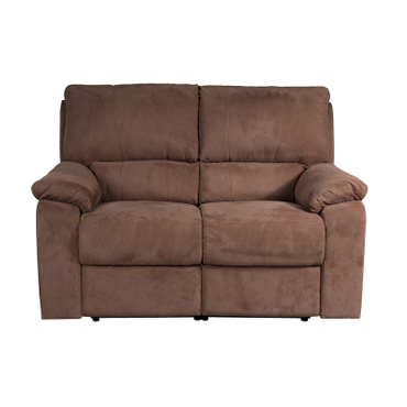 2er Sofa WINTER Stoff braun
