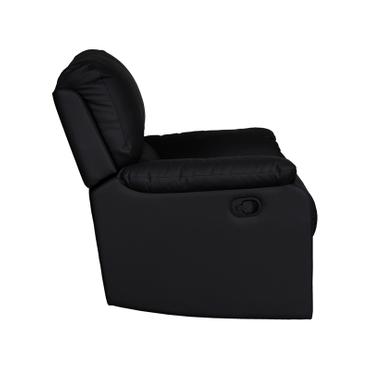 Relaxsessel WINTER Synthetisches Leder schwarz