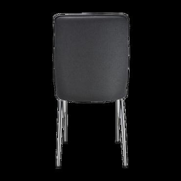 Stuhl JOANA Synthetisches Leder grau