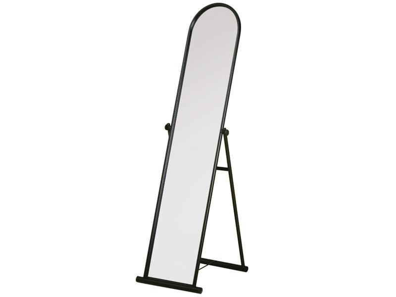 Spiegel rechteckig KRISTY 30x40x135cm silberfarben