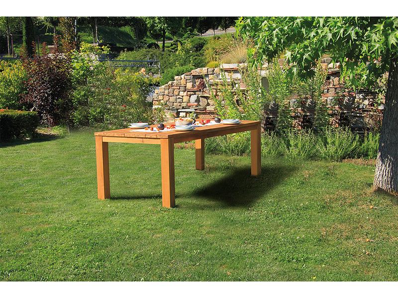 Gartentisch OLD JAVA 100x220x78cm