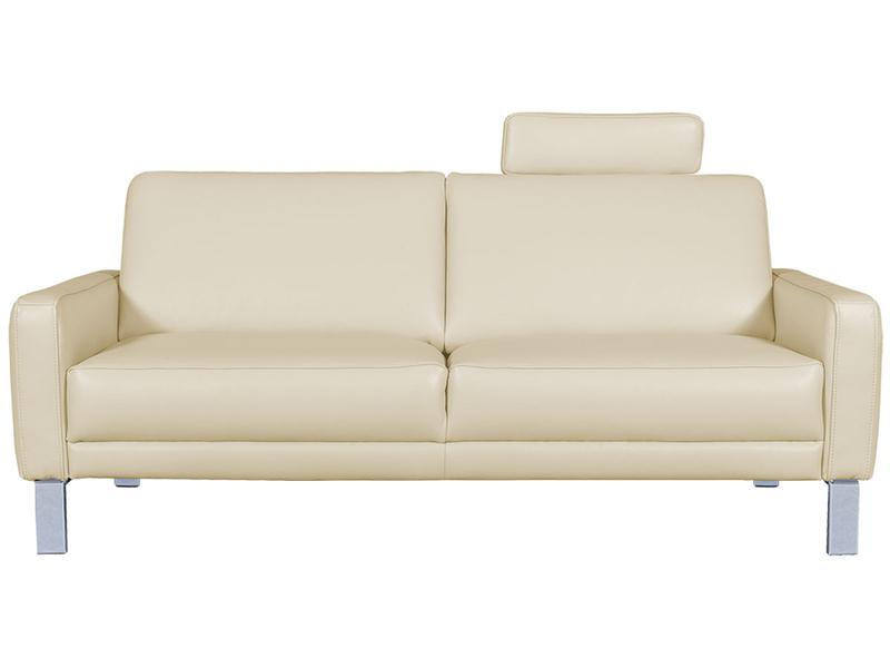 2er Sofa SPRING Echtleder beige