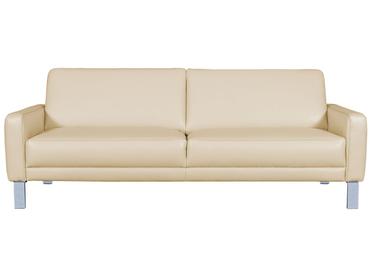 3er Sofa SPRING Echtleder beige