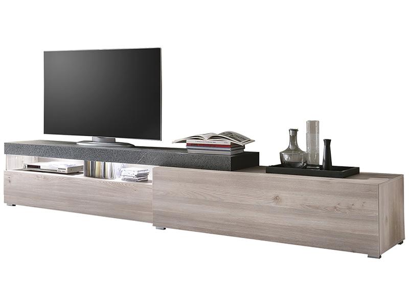 TV-Möbel QUARTZ eiche