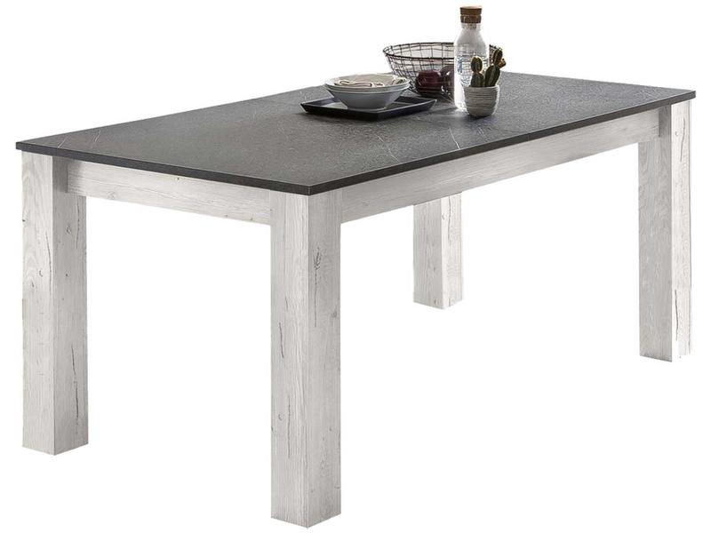 Tisch ausziehbar QUARTZ 160-210x90x75cm