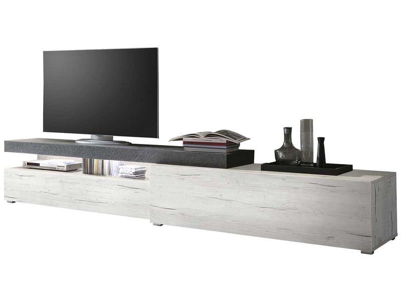 TV-Möbel QUARTZ weiss