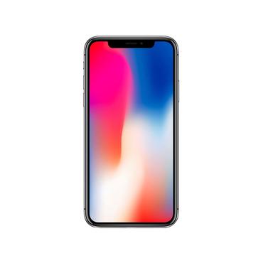 Smartphone zurückgesetzt APPLE iPhone X 64 Go 64GB grau