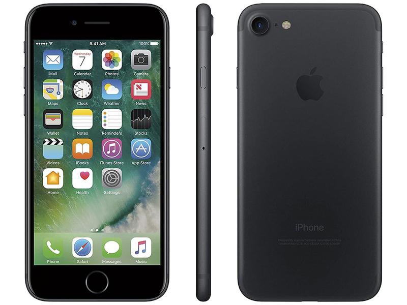 Smartphone zurückgesetzt APPLE iPhone 7 128GB black