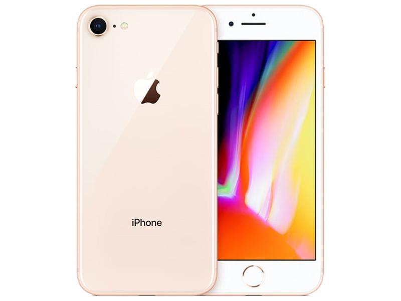 Smartphone zurückgesetzt APPLE iPhone 8 GOLD 256GB rosa