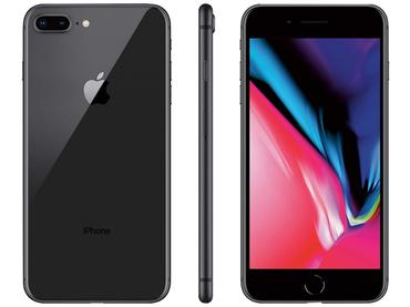Smartphone zurückgesetzt APPLE iPhone 8 SPACE GREY 256GB dunkelgrau
