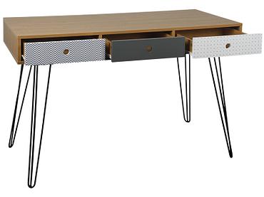 Schreibtisch KAREV eiche