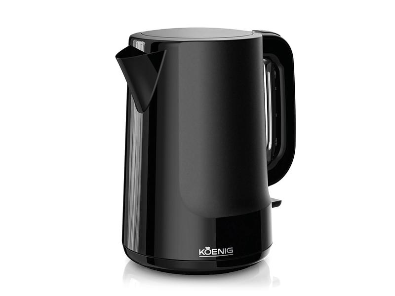 Wasserkocher 1.7L KOENIG Black line