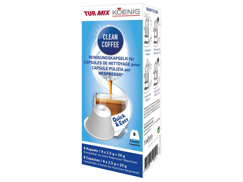 Clean coffee für Nespresso Maschine KOENIG