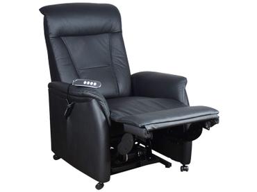 Relaxsessel VERONE RELAX Echtleder schwarz