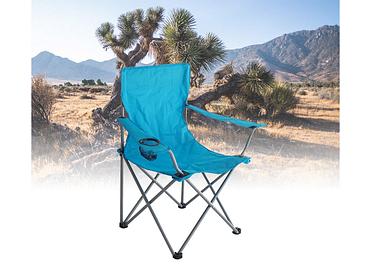 Camping-Stuhl GAVDOS blau